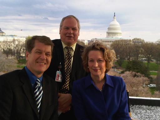Susan Eisenhower, Steve Clemons, and Adam Boulton
