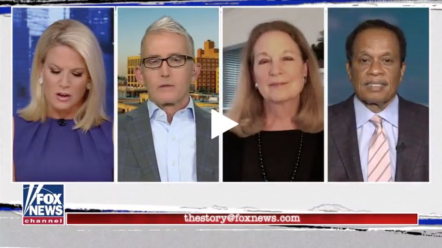Martha MacCallum, Trey Gowdy, Susan Eisenhower, and Juan Williams on The Story